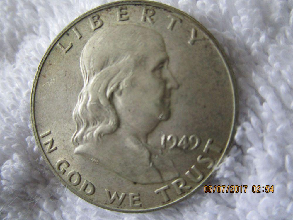 COIN 1949 D FRANKLIN HALF DOLLAR