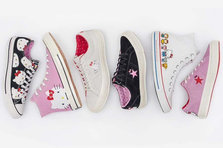 Os tênis Hello Kitty x Converse Just Lia   Por Lia Camargo