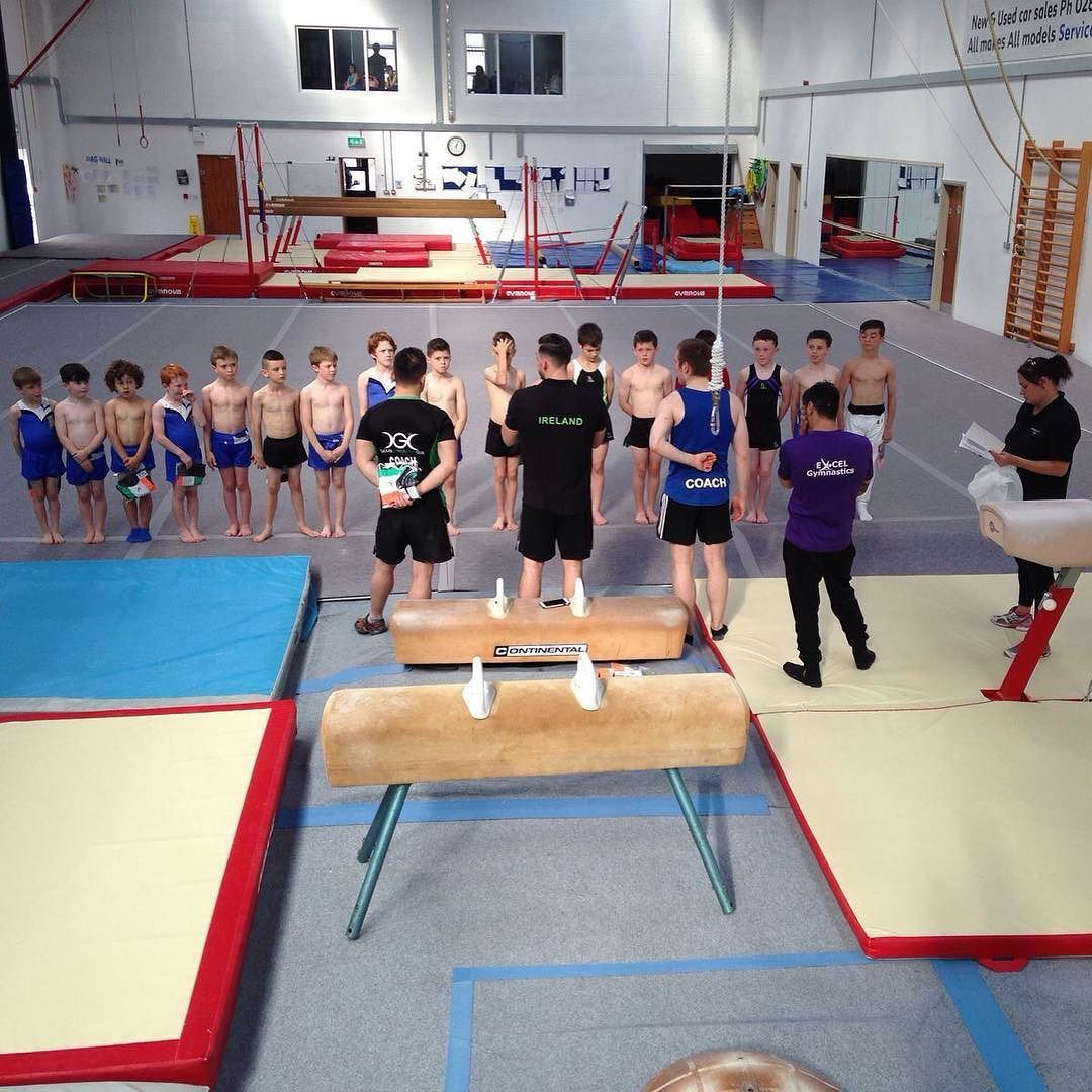 Teaching the next generation of Mensgymnastics artistic