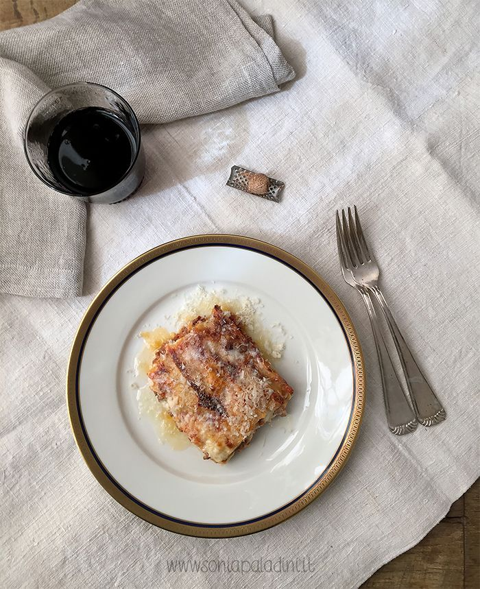 #Lasagne #lasagna #ragù #ricetta #Italia #food #photo #love