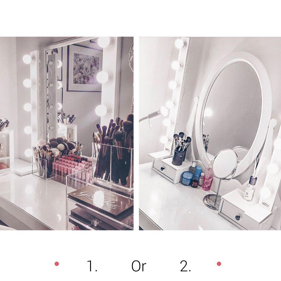 Hollywood meikki puku huone peili LED-lamput k89CW