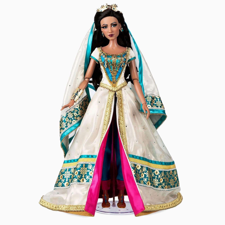 Princess Jasmine Wedding Dress Lovely Limited Edition Aladdin Dolls Arrive On Shopdisney [ 1500 x 1500 Pixel ]