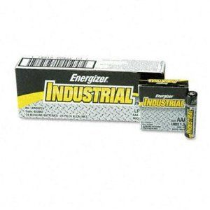 Energizer Industrial Alkaline Batteries - Industrial Alkaline Batteries, AAA, 24 Batteries/Box by Energizer. $9.99. Product DescriptionAmerica&rsquos #1 Facial Tissue. Tissue Type: Facial Number of Plies: 2 Number of Sheets: 95 per box.Unit of Measure : Pack