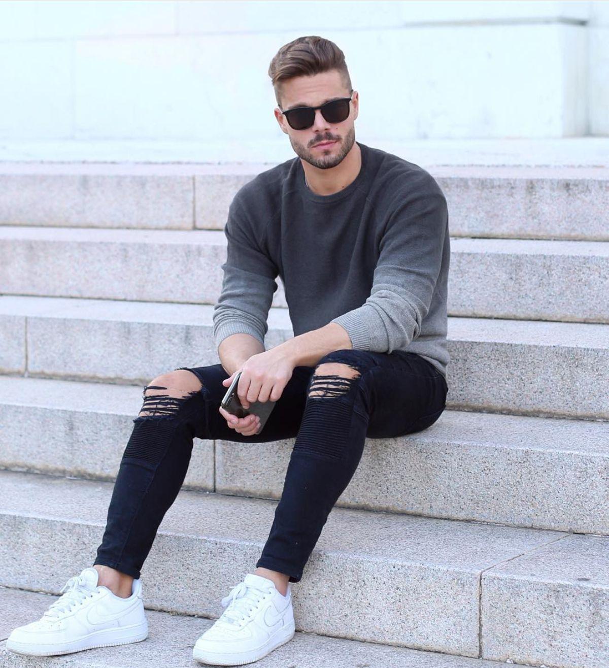 Como se vestir bem com tênis branco masculino