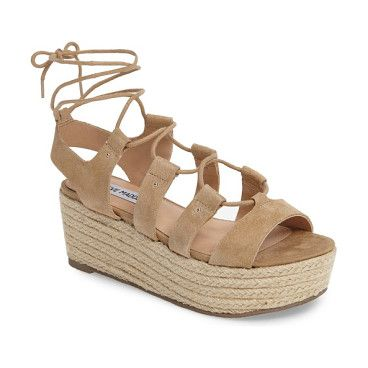 0d55197afe92 brayla wedge sandal by Steve Madden. Take on this summer in trend-worthy  style