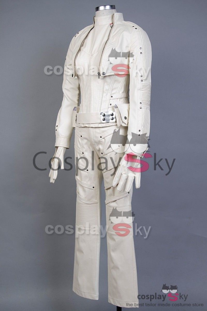 Legends of Tomorrow White Canary Cosplay Costume_4