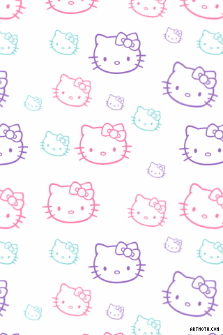 Wallpaper For Iphone Hello Kitty