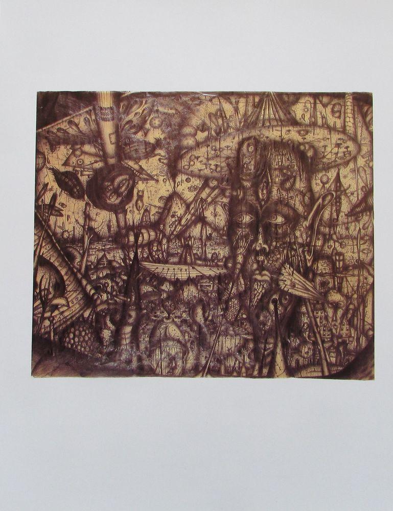 Kunstdrucke Moderne Kunst arnulf rainer der taucher kunstdruck 21x27 österreichische moderne