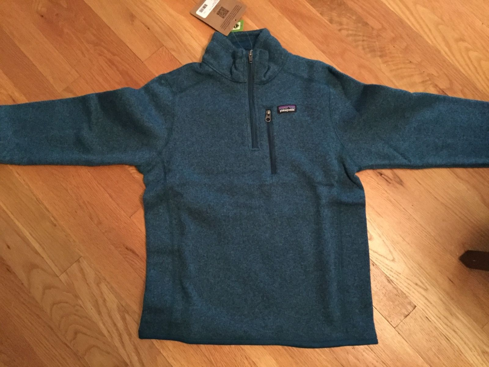 a69eab130493 Outerwear 51933  Nwt Patagonia Boys Better Sweater 1 4 Zip