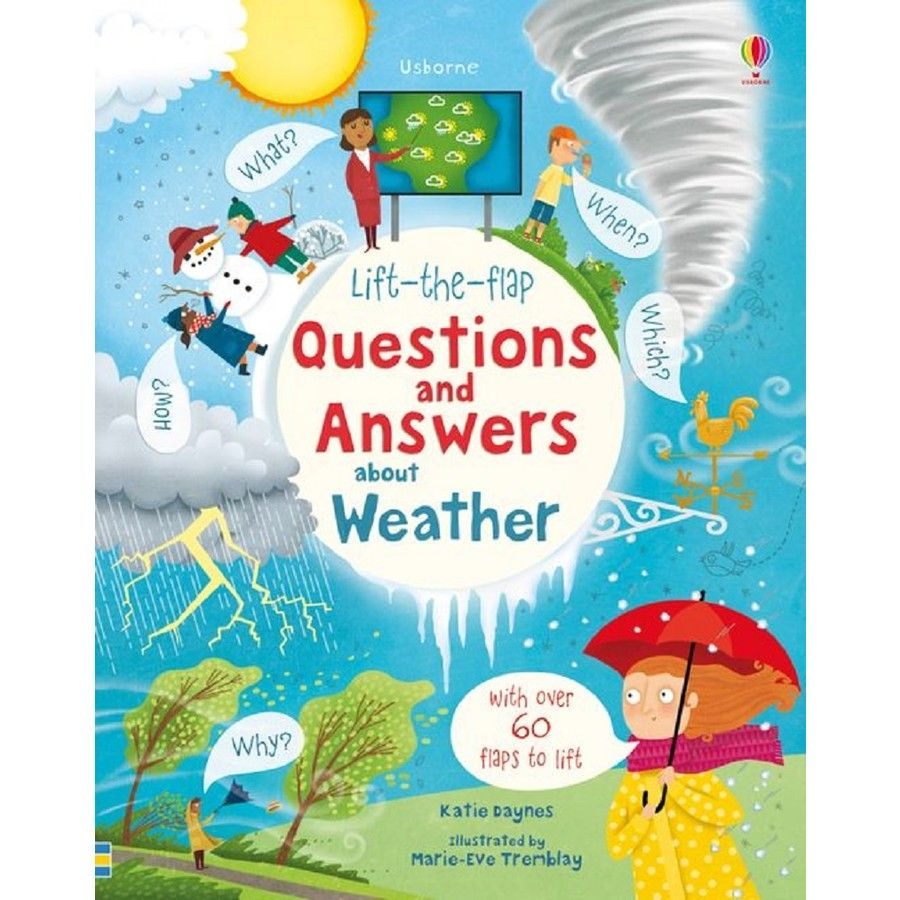 Lift The Flap Questions And Answers About Weather This Or That Questions Usborne Books Question And Answer [ 900 x 900 Pixel ]