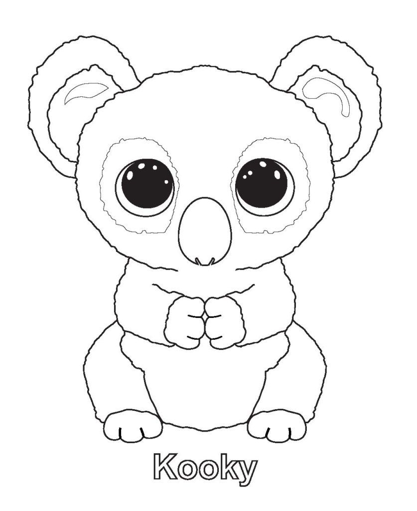 Coloring Rocks Beanie Boo Birthdays Beanie Boo Party Penguin Coloring Pages