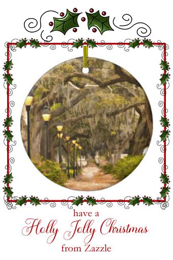 Christmas In Savannah Georgia 2019.Forsyth Park Photo Savannah Georgia Ga Usa Ceramic