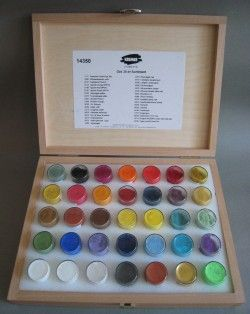 Kremer 35th Anniversary Pigment set -- this is what I will ...