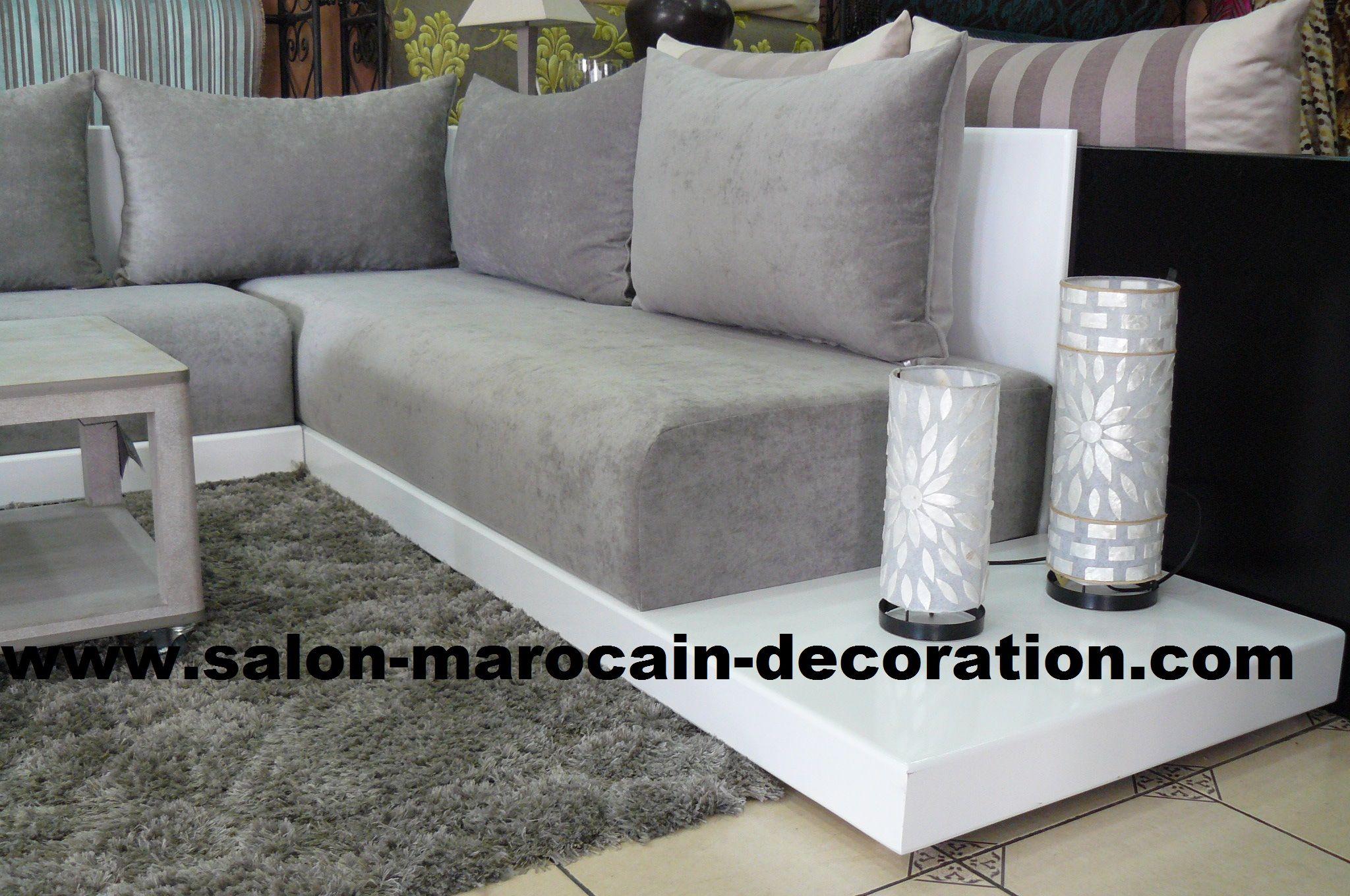 sedari pour salon marocain sur mesure  Casa  Salon marocain Salons et Deco salon