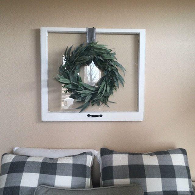 Photo of Fall Wreath-Rustic Wreath-Primitive Berry Wreath-Winter Wreath-RUSTIC STAR Wreath-Rustic Home Decor-Primitive Country-Autumn Door Decor