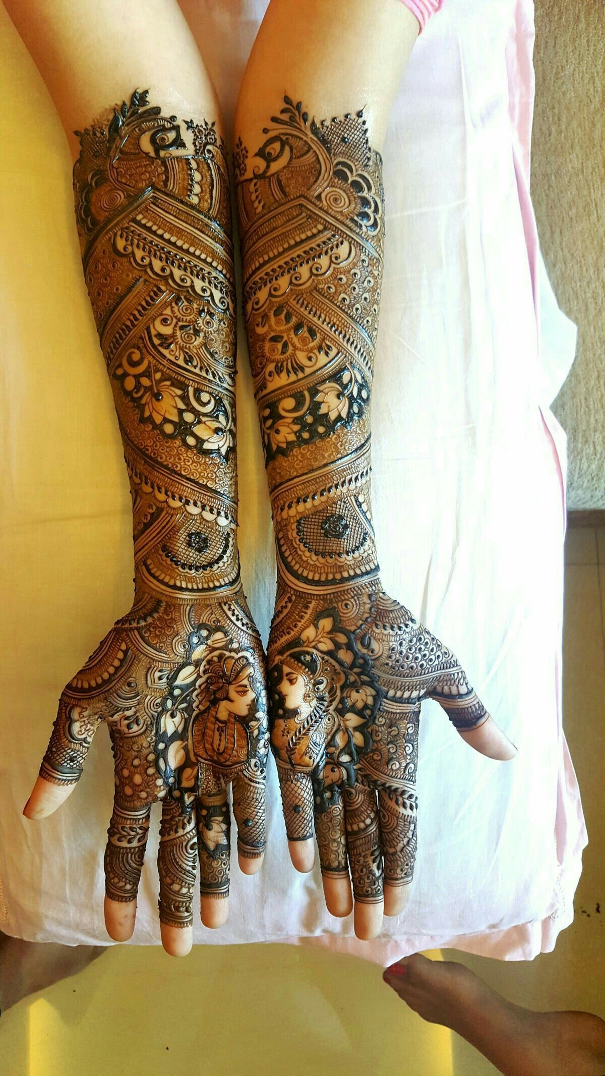 Indian Bridal Henna Designs: Bridal Mehndi Designs