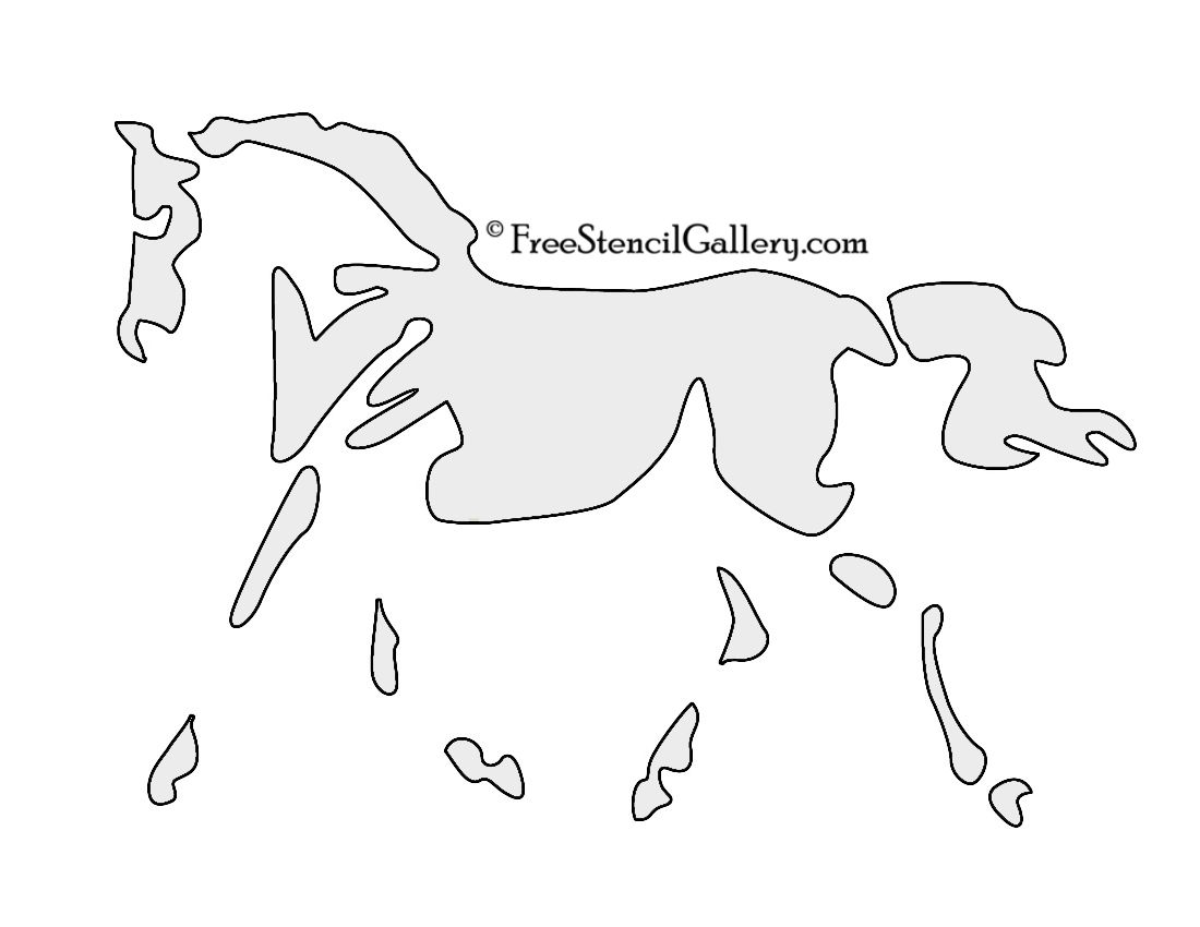 Free Horse Pumpkin Carving Stencil Get Carving