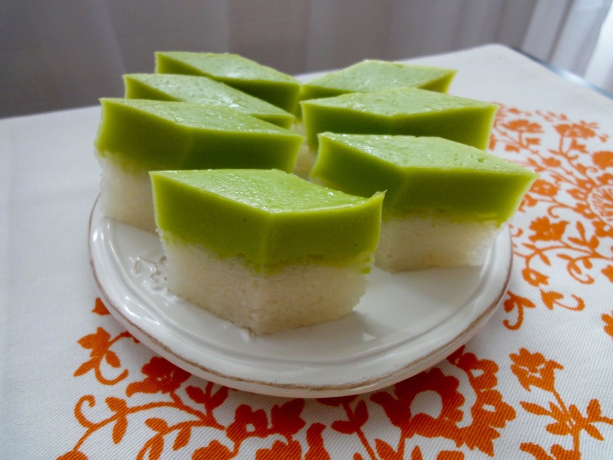 Kuih Seri Muka | Recipe | Recipes, Asian desserts, Food
