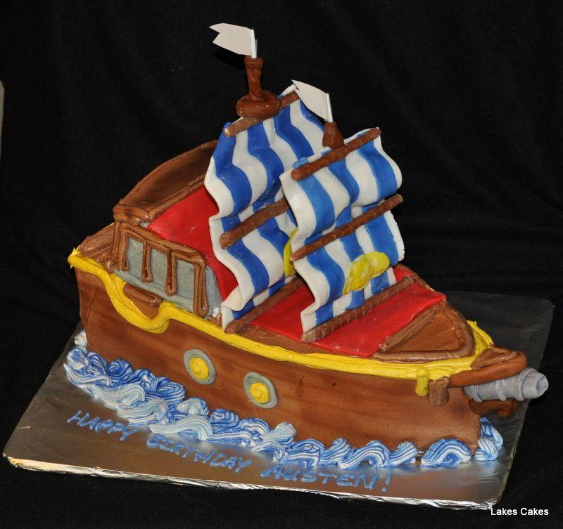 3d pirate ship cake lake cake pirate ship cakes cake