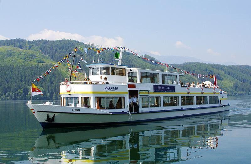 Millstatter See Schifffahrt In Karnten Millstatter See Schiffsreise Schifffahrt