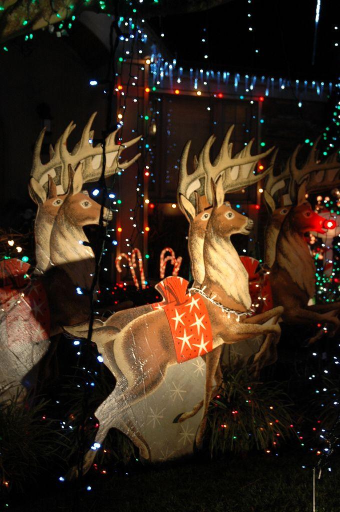 Rudolf The Red Nosed Reindeer 1950 1960 S Style Seattle Neighborhood Stop Washington State Usa Christmas Ephemera Retro Christmas Vintage Christmas Cards