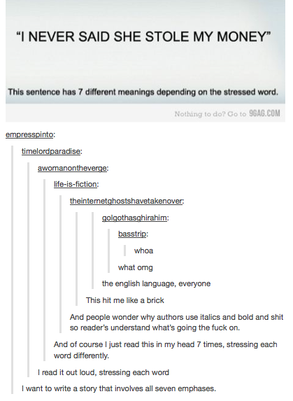 Yep.  English everyone. It's crazy, and that's why we have to study it in school for 12 years or more.  And a lot of people still have trouble writing it.
