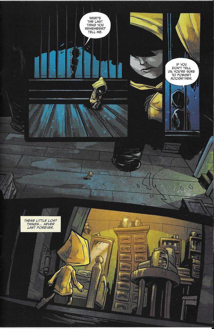 Little Nightmares Comic 6 by jJagiSkull87 on Devia