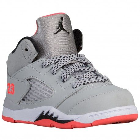 air jordan 5 retro wolf grey,Jordan Retro 5 - Girls' Toddler - Basketball -  Shoes - Wolf Grey/Black/Hot Lava/White-sku:25172018. Chaussures Pour Les  Tout ...
