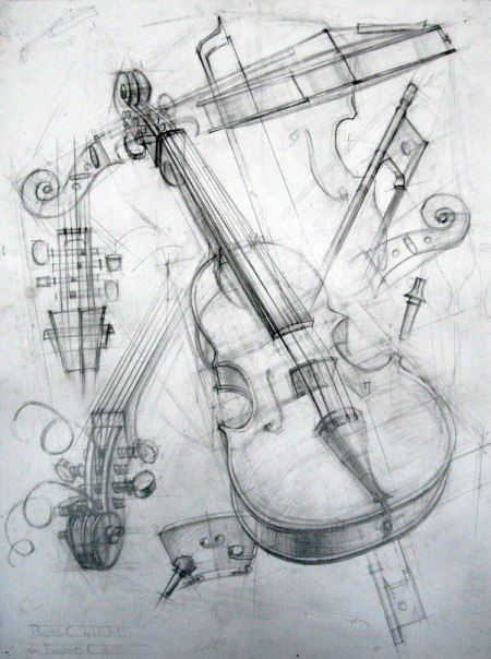 58 Musical Instruments And People Pencil Drawing Ideas #musicalinstruments