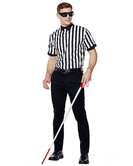 Blind referee adult costume photos 691