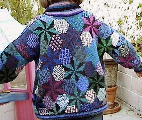 Ravelry: Geometric Star pattern by Kaffe Fassett