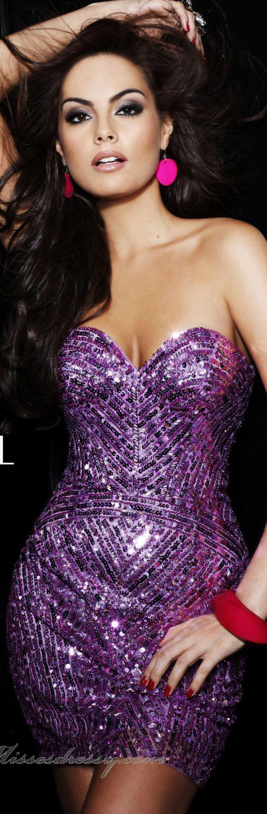 Strapless Sweetheart Cocktail Dress by Sherri Hill <3 reminds me of waiting for tonight by j lo