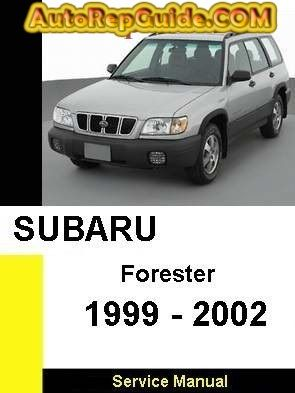 subaru forester 1999 service manual download
