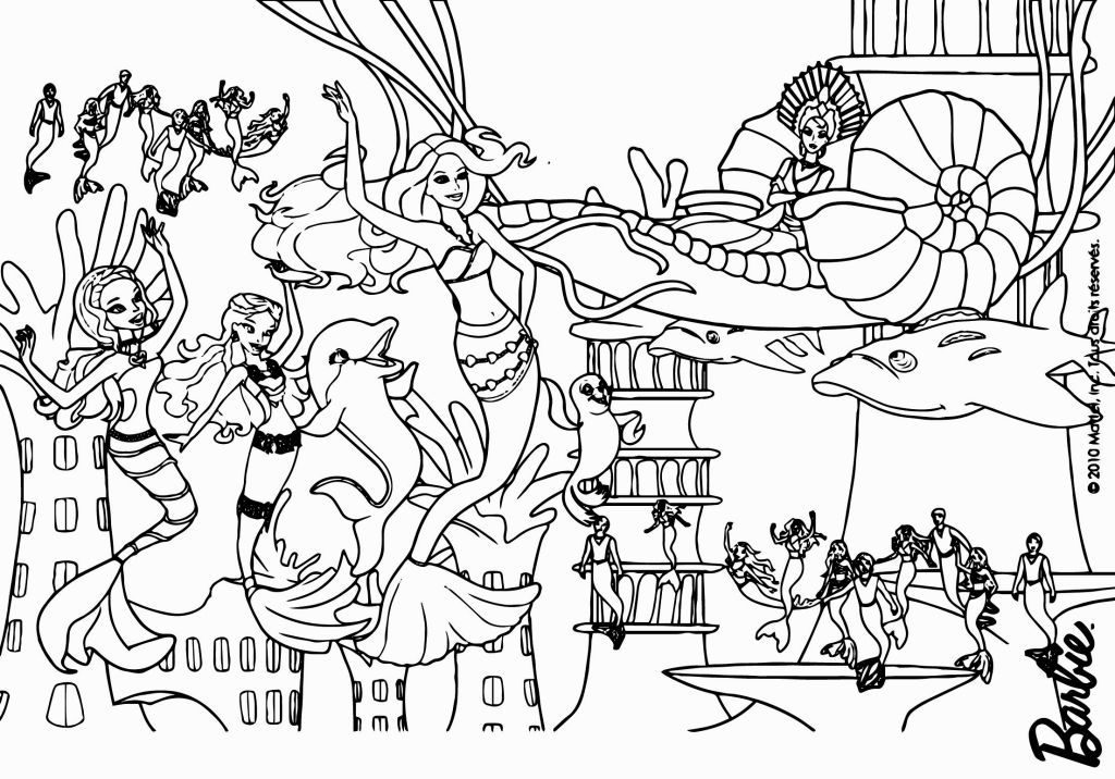 Shark Tale Coloring Pages Mermaid Coloring Pages Barbie Coloring