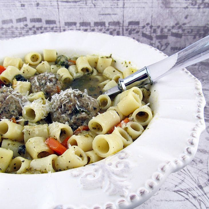 Italian Wedding Soup Recipe Soups With Ground Beef, Bread