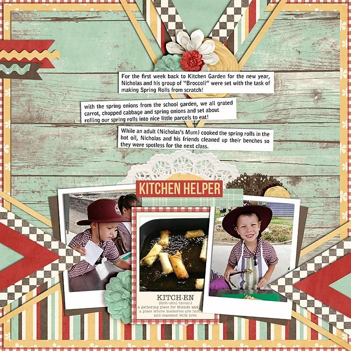 KitchenHelpers by ksbella using Homemade Happiness by Traci Reed