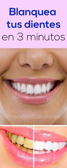 Como blanquear los dientes en casa blanqueamiento dental en 3 minutos comidas que sanan - Como blanquear los dientes en casa ...