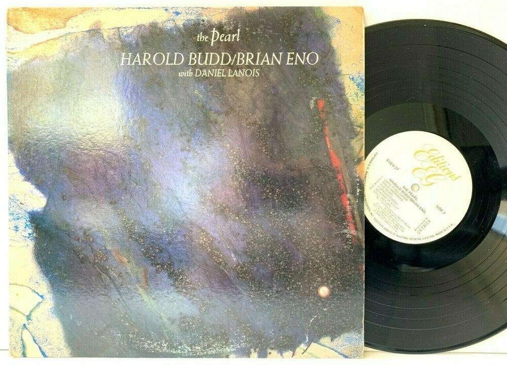 Harold Budd Brian Eno W Daniel Lanois The Pearl Eg Lp Vinyl Record Album Capitolcollectibles Com Stores E Vinyl Record Album Vinyl Records Daniel Lanois