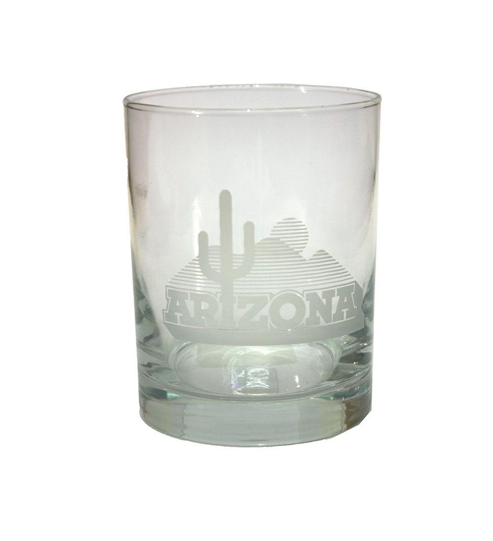 Cover image for 14oz arizona cactus logo white etched