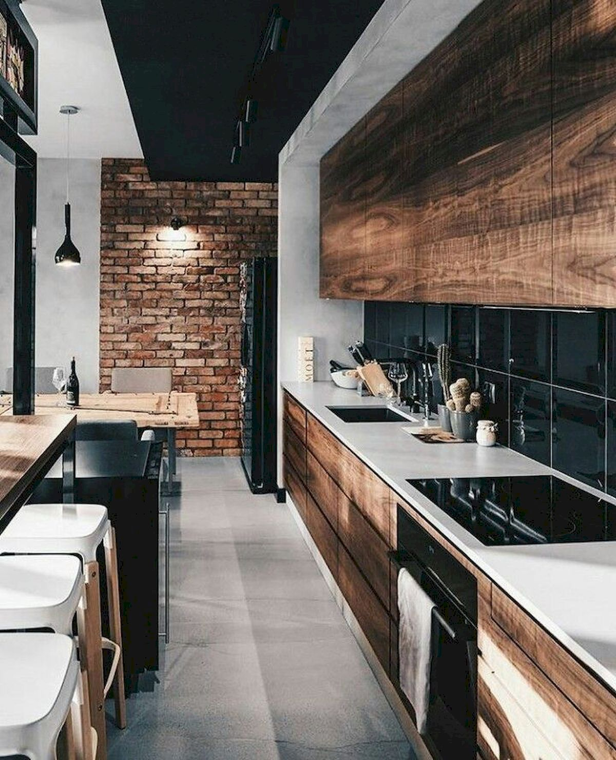 30 Minimalist But Luxurious Kitchen Design 22 Jihanshanum Modern Kitchen Design Kitchen Design Interior Design Kitchen