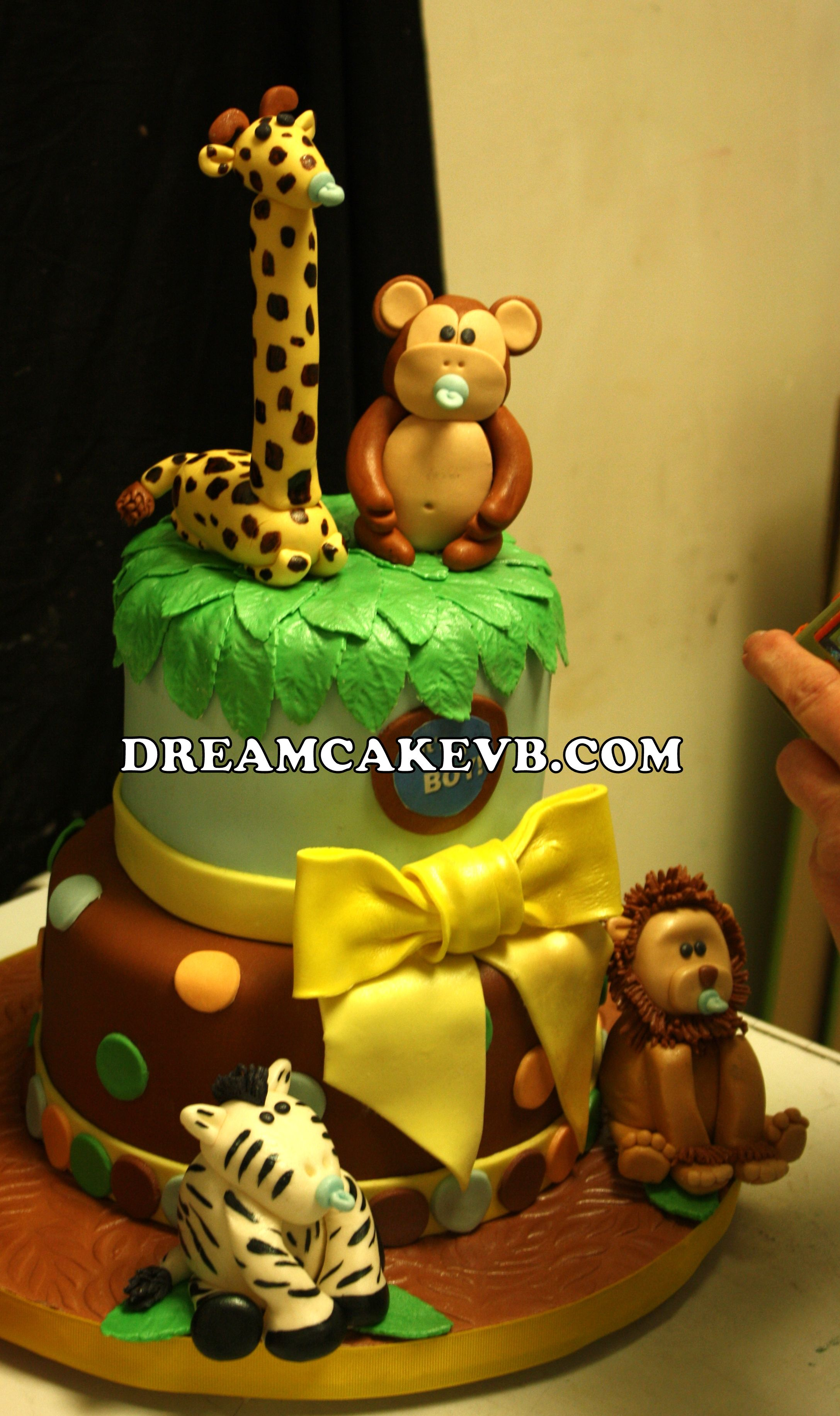 Cute theme for a boy baby shower