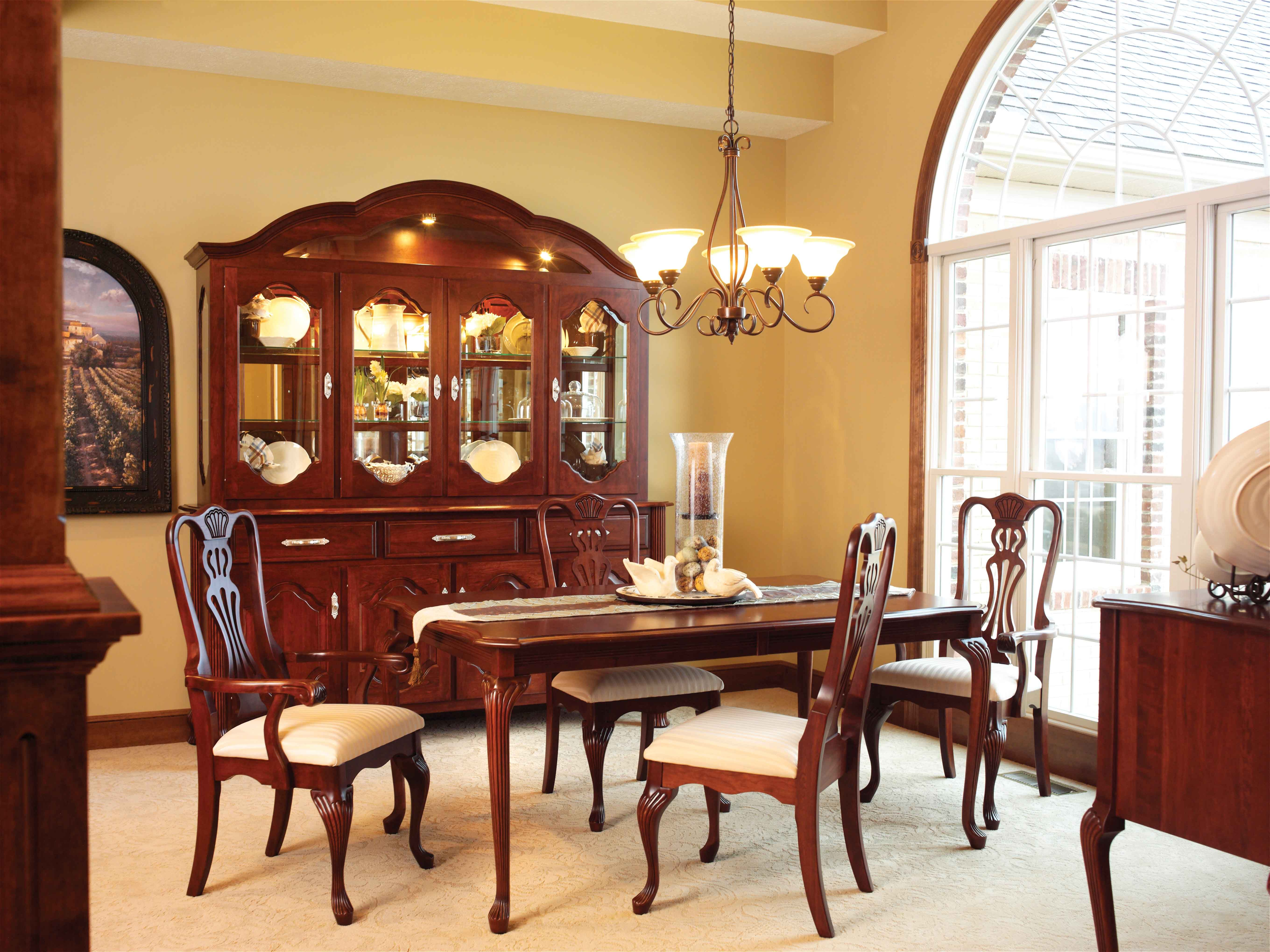 Regal Dining Room Suite Available in a variety of stains ...