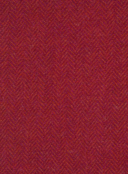 Red tweed fabric