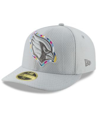 New Era Arizona Cardinals Crucial Catch Low Profile 59FIFTY Fitted Cap -  Gray 7 1 2 3f31486ed7e