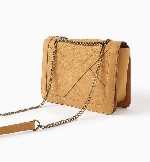 Lookbook Handtasche Promod Frau 2019 Cognac Kleine Und 8Iwaqdd
