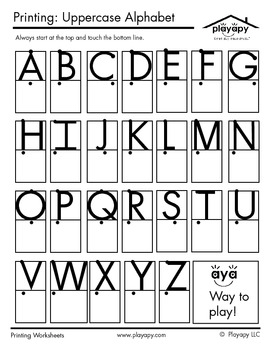 44+ Complete printing letters worksheets ideas