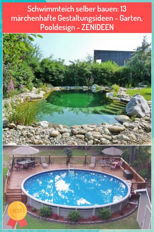 Schwimmteich Selber Bauen 13 Marchenhafte Gestaltungsideen Garten Pooldesign Zenideen My Blog In 2020 Outdoor Decor Outdoor Hot Tub