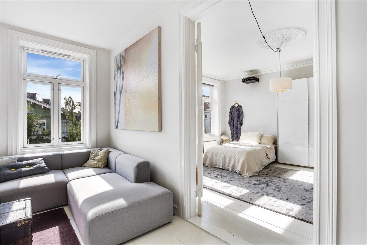 Minimalistisch mooie woonkamer uit Oslo   Slaapkamer   Pinterest ...