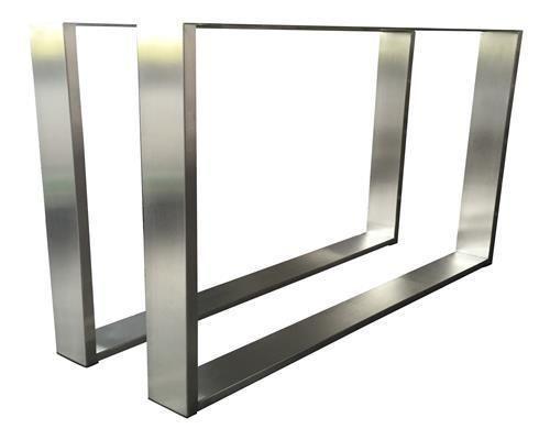 details zu tischgestell edelstahl tug 403 tischuntergestell tischkufe kufengestell 800x730. Black Bedroom Furniture Sets. Home Design Ideas