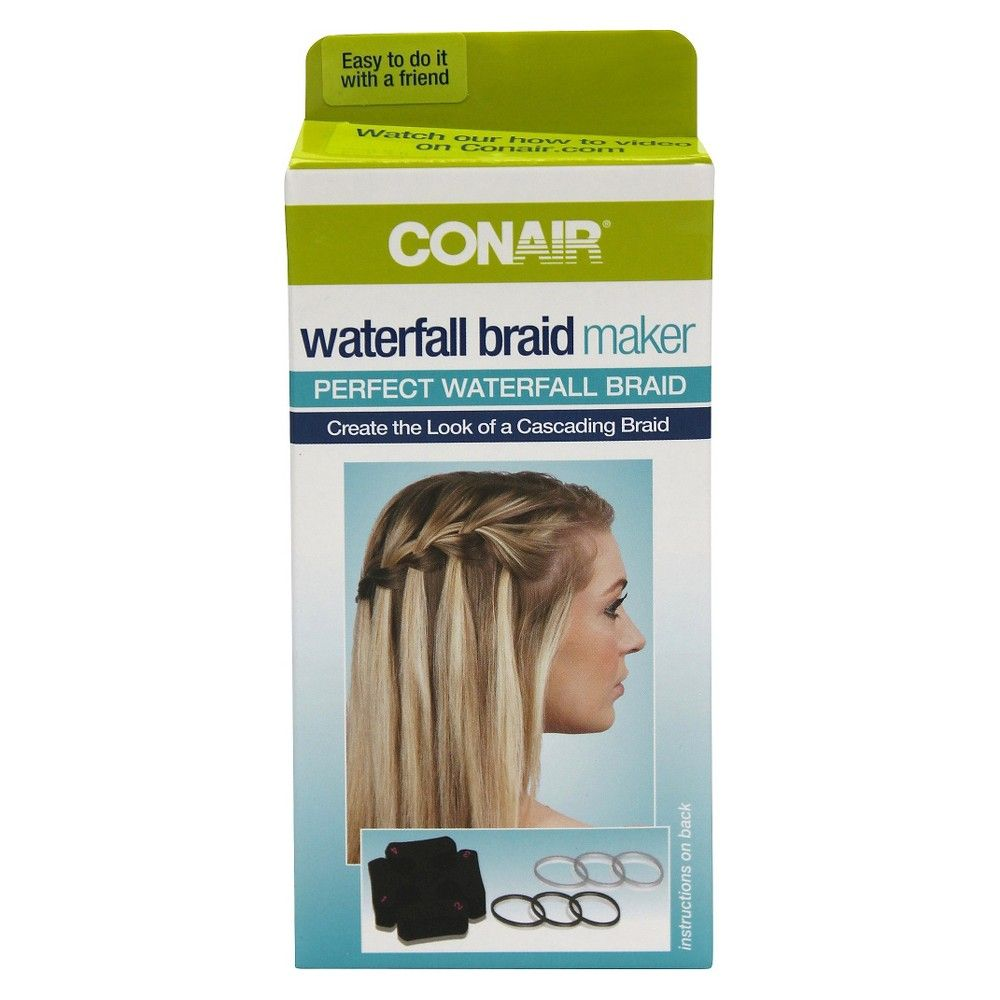 Conair Waterfall Braid Maker 7 Count Uni Black